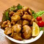 カラーラ ノンオイルフライヤーで鶏の唐揚を作る